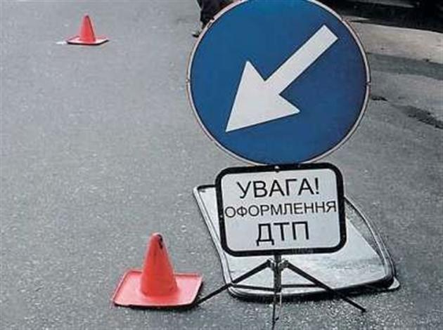 В Киеве иномарка сбила пенсионера
