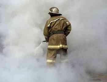 На Бальзака в пожаре сгорел консьерж