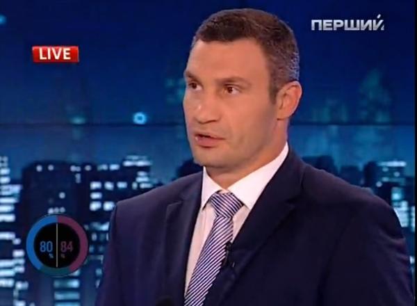 Своими противниками Кличко считает миллионеров