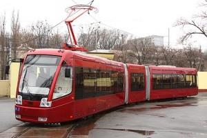 На Троещине трамваи будут с кондиционерами и видеонаблюдением