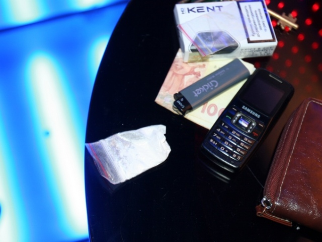В киевском ночном клубе велась торговля наркотиками