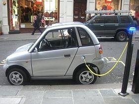 Ноу-Хау: в Киеве открыт пункт для зарядки электромобилей