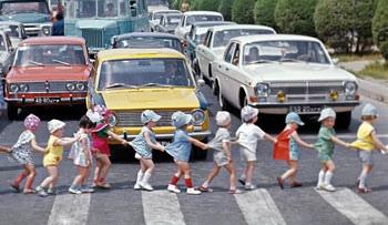На дорогах Киева пострадали 158 несовершеннолетних