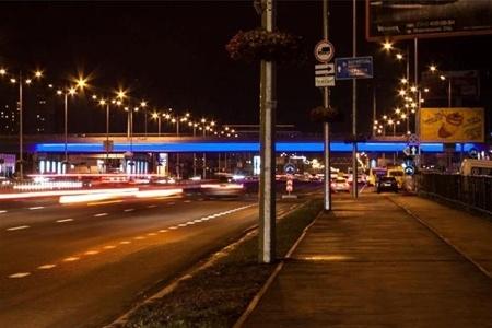 Киевские мосты будут с архитектурной подсветкой