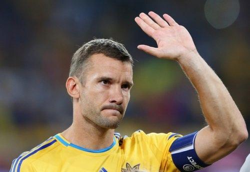 Тренером сборной Украины может стать Андрей Шевченко