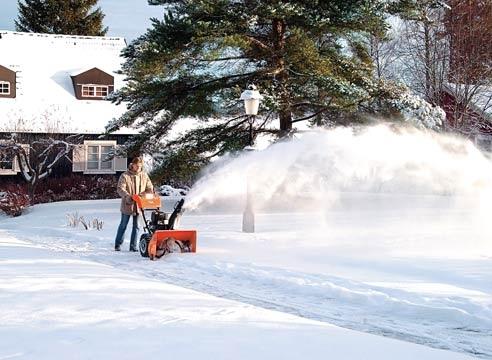 Очищать улицы от снега будет техника малой механизации