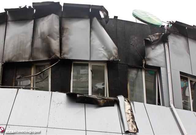 Спасатели потушили пожар на Гетьмана, 1