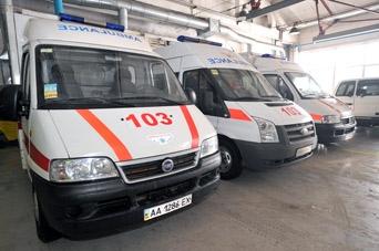 Скорая помощь будет дежурить в каждом районе Киева