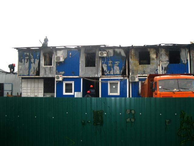 Пожар возле ЗАГСа в Киеве мог случиться из-за сигаретного окурка