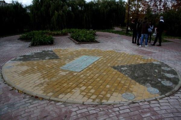 Жители Соломенки смогут узнавать время по солнцу