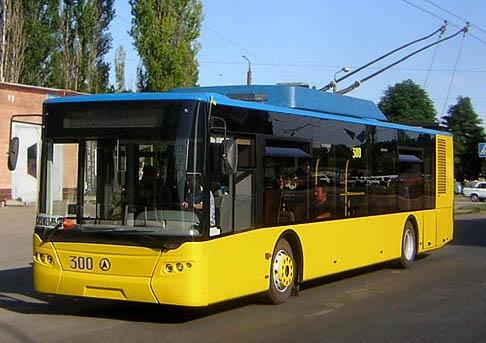 Киевляне больше предпочитают ездить на троллейбусах