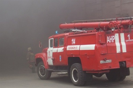 В Голосеевском районе сгорела квартира. Пострадали дети