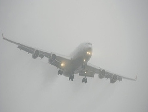 """Самолет """"Киев - Одесса"""" не смог приземлиться в аэропорту из-за тумана"""