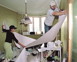 Под Киевом из-за ремонта в детском саду могли пострадать дети