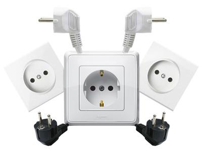 Важные детали системы электропроводки: при покупке розеток