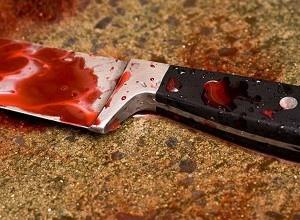 В одном из кафе Киева посетители выяснили отношения на ножах