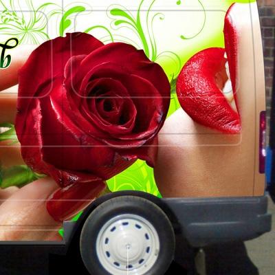 Брендирование авто - как цель заявить о своих продуктах и товарах