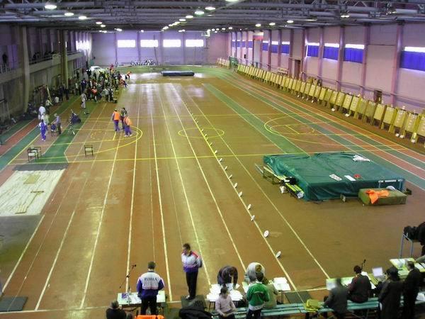 Ко Дню Киева откроется реконструированный легкоатлетический манеж на Березняках