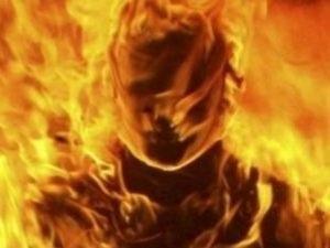 Родная дочь сотворила из матери горящий факел