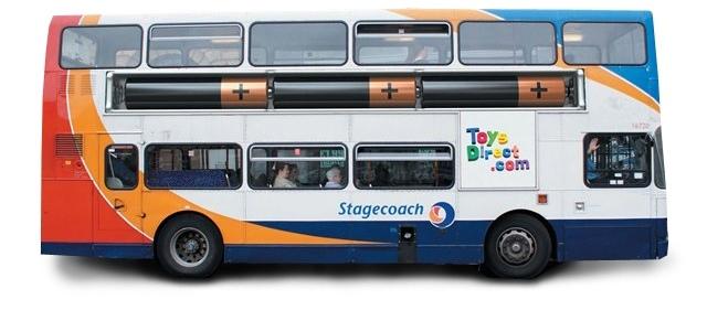 Реклама на транспорте - личная машина или автобус?