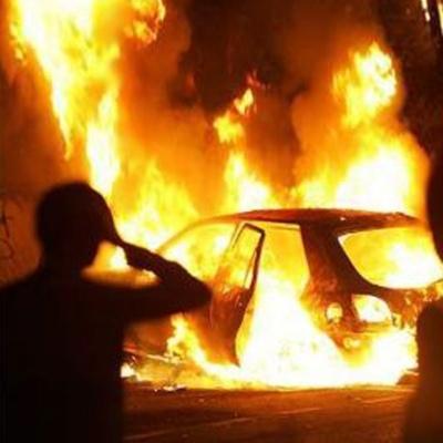 Под Киевом неизвестные сожгли авто депутата