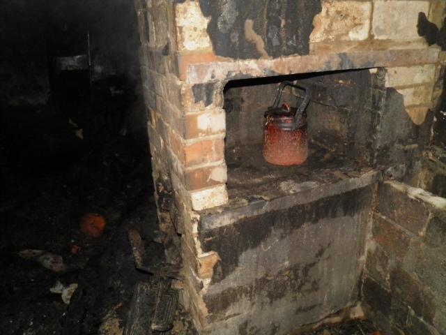 На Киевщине в пожаре заживо сгорели люди