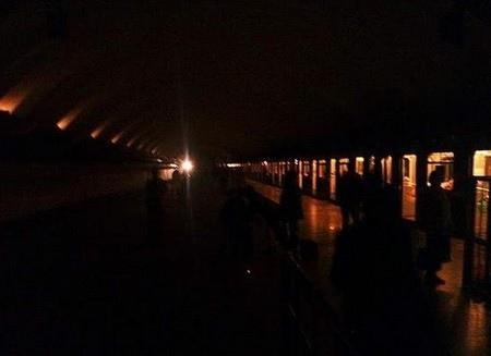 Киевский метрополитен собираются обесточить