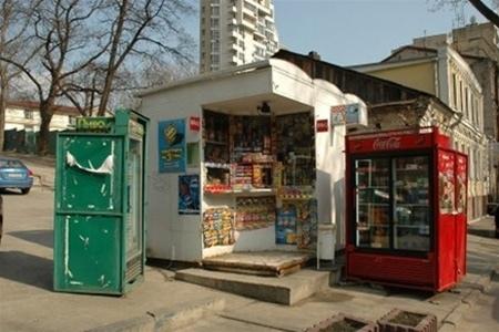 Демонтированные МАФы в Киеве негде уже хранить