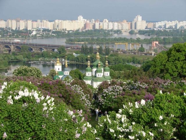 Куда сходить в Киеве весной
