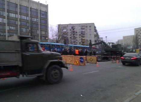 На улице Борщаговской в Киеве пробок больше не будет