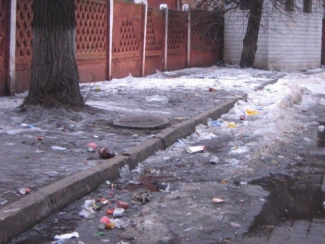 Весна покажет, кто и что спрятал под снегом в Киеве