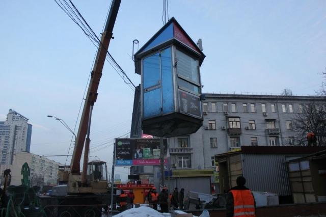Демонтированные МАФы в Киеве могут поставить под окнами политиков