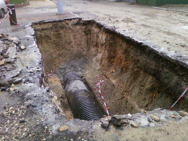 """У """"Киевводоканала"""" нет денег, чтобы ремонтировать канализацию"""
