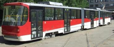 В Киеве презентуют 31-метровый трамвай