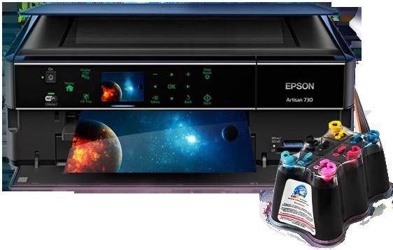 Обзор МФУ Epson Artisan 730
