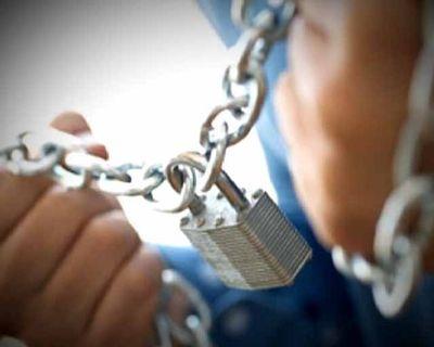 Киевлянина посадили на цепь якобы за кражу мобильного телефона