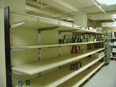 Отсутствие веры в лучшее побудило киевлян опустошить магазины