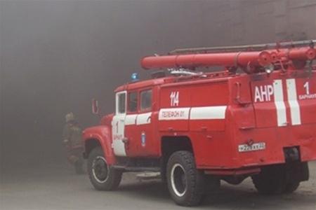 Несмотря на непогоду пожарным удалось вовремя спасти МАФ