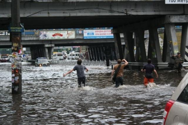 В КГГА рассказали, как вести себя в случае наводнения