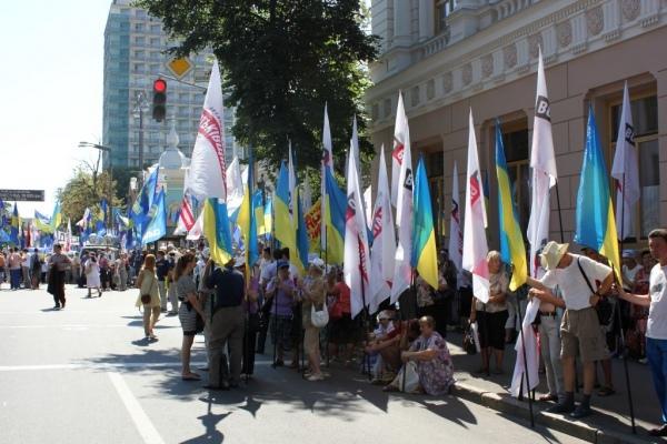 В центре Киева сегодня возможны транспортные заторы