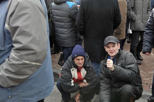 """В Партии регионов обещают наказать """"киевлян-террористов"""" за митинг у парламента"""