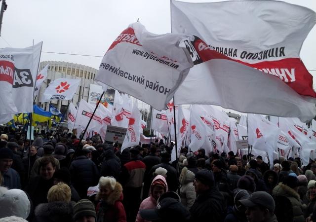 """Киевляне могут """"заработать"""" на политике от 15 гривен в час"""