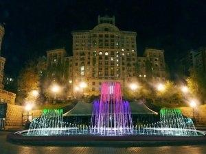 К началу мая в Киеве заработают светомузыкальные фонтаны