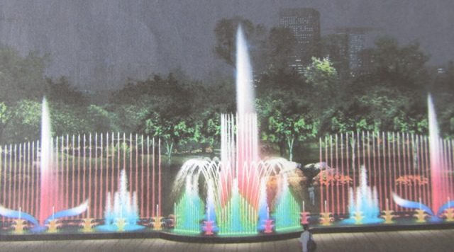 На комплекс певчих фонтанов на Оболони потратят 7 млн. гривен
