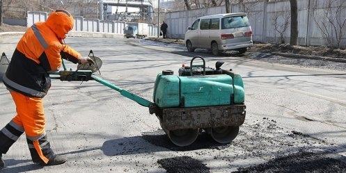 Ямочный ремонт дорог в Киеве прослужит 3-5 лет