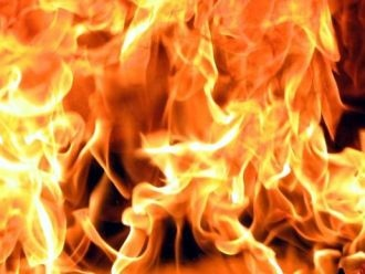 На Вернадского двое мужчин едва не погибли в огне