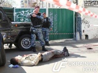 На Саксаганского застрелили мужчину