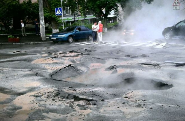 """В Киеве невозможно заранее узнать, где случится """"извержение теплового вулкана"""""""