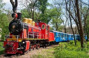 Киевская детская железная дорога начинает юбилейный сезон