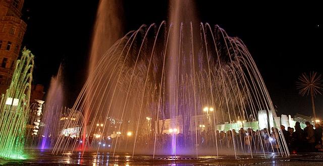В Киеве открылся сезон фонтанов